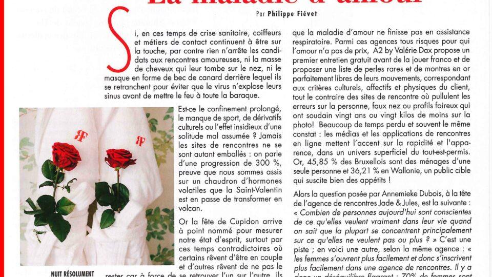 Paris Match parle de Jade & Jules